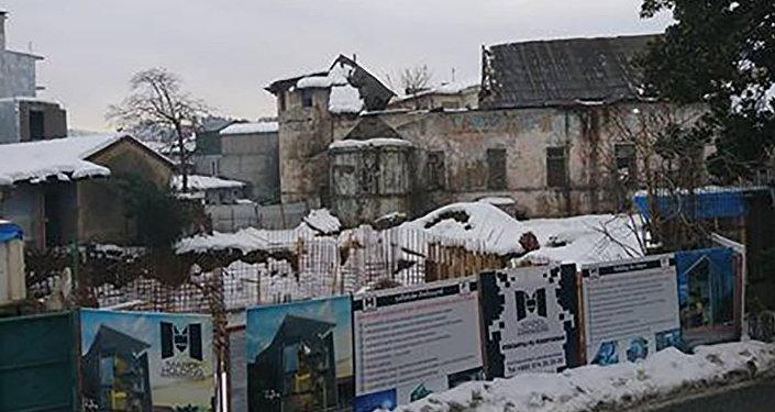 Բաթումում ավերված հայ կաթոլիկ եկեղեցի