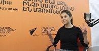 Sputnik Արմենիայի «Ուրիշ նորություններ» հաղորդաշարի հյուրը՝ երգչուհի Նարինե Դովլաթյանն է