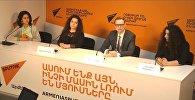 Sputnik Արմենիա մամուլի կենտրոնում տեղի է ունեցել «Համաշխարհային կրթության բաց դռների օր» միջոցառմանը նվիրված ասուլիս