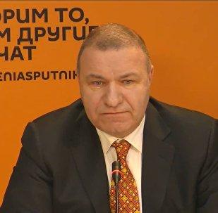 ՀՀ ԱԺ պատգամավոր Միքայել Մելքումյանի մամուլի ասուլիսը Sputnik Արմենիա մամուլի կենտրոնում