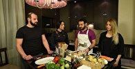 Շեֆ խոհարարին հյուր. ինչպես է պետք պատրաստել ճապոնական, իտալական ու հայկական ուտեստները