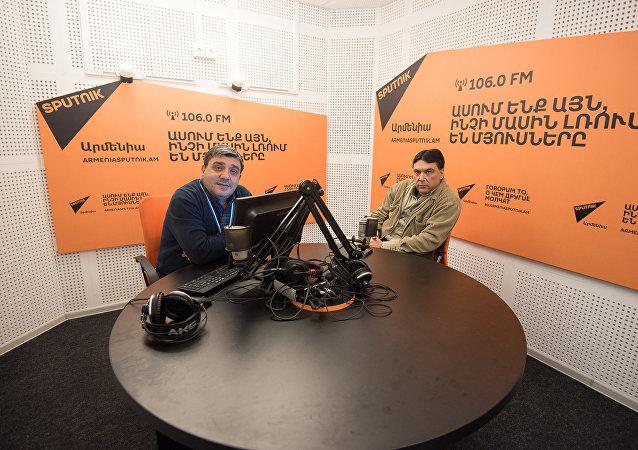 Тигран Нерсисян в гостях у радио Sputnik Армения