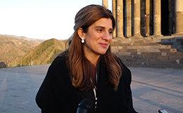 Հորդանանի արքայադուստր Դինա Մայրեդն այցելել է Գեղարդի վանք ու Գառնու հեթանոսական տաճար