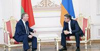 Հայաստանի և Բելառուսի վարչապետերը քննարկել են տնտեսական հարաբերությունների օրակարգը