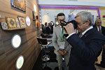 Սերժ Սարգսյանն այցելել է «Աստանա էքսպո 2017» ցուցահանդեսի հայկական տաղավար
