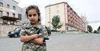Աննա, 8 տարեկան, Շուշի