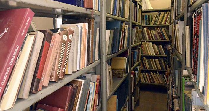 «Պատմամշակութային արգելոց-թանգարանների և պատմական միջավայրի պահպանության ծառայություն» ՊՈԱԿ-ի գրադարանում