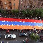 Տոնական քայլերթ Երևանում կամ նվիրվում է ՀՀ սահմանադրությանը