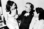 Ռոզի Արմենն ու Արամ Խաչատրյանը 1965-ին