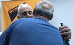 Հայտնի քաղաքագետն ու լեգենդար ֆուտբոլիստը հանդիպեցին Sputnik  Արմենիայում