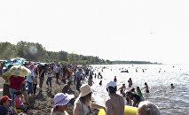 Վարդավառին ընդառաջ Սևանի ափին բացվեց ևս մեկ հանրային լողափ