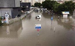 Стихийное бедствие в Стамбуле