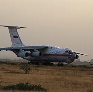 Ինչպես է ռուսական ինքնաթիռը մարում Խոսրովի անտառի հրդեհը