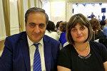 ՄԱնուկ Սիմոնյանն ու Ռուզաննա Մկրտչյանը