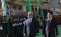 ՀՀ և Թուրքմենստանի նախագահներ
