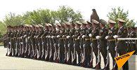 Պատվո պահակախմբի վաշտի զինծառայողների հիասքանչ ելույթը