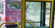 Բախվել են մարդատար ավտոբուսները