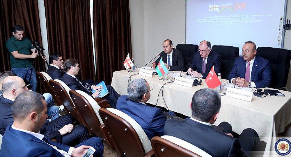 Վրաստանի, Ադրբեջանի և Թուրքիայի ԱԳ նախարարները