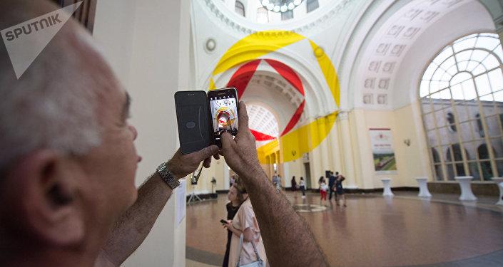 Ֆելիչե Վարինիի ցուցահանդեսը Երևանում