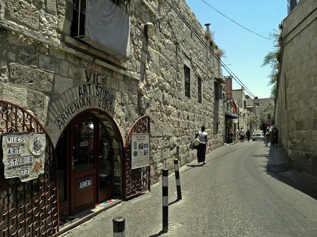 Иерусалим, армянский квартал