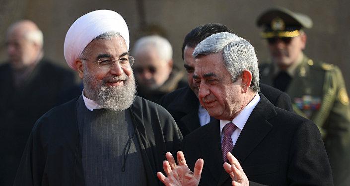 Իրանի և Հայաստանի նախագահները