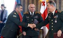 Վրաստանի, Ադրբեջանի և Թուրքիայի ներկայացուցիչներ