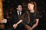 Արթուր Ջանիբեկյանը կնոջ հետ