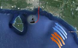 Երևանցի սուզորդները Կարիբյան ծովի հատակին գտել են հայկական նավի թնդանոթները