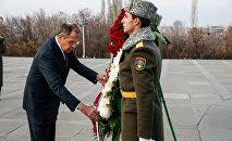 ՌԴ ԱԳՆ Սերգեյ Լավրովի այցը Երևան: Ծիծեռնակաբերդ