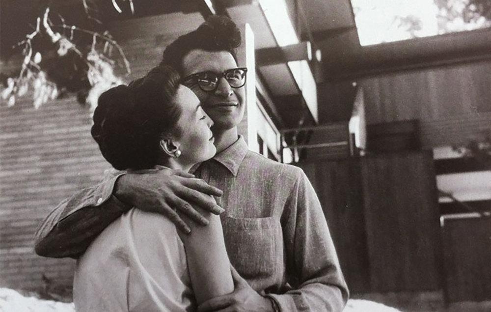 Դեյվ Բրուբեկը կնոջ հետ
