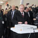 Վլադիմիր Պուտինը ընտրատեղամասում, 2012 թվական