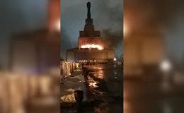 Սարսափելի տեսարան. մոսկովյան հրդեհի դաժան կադրերը